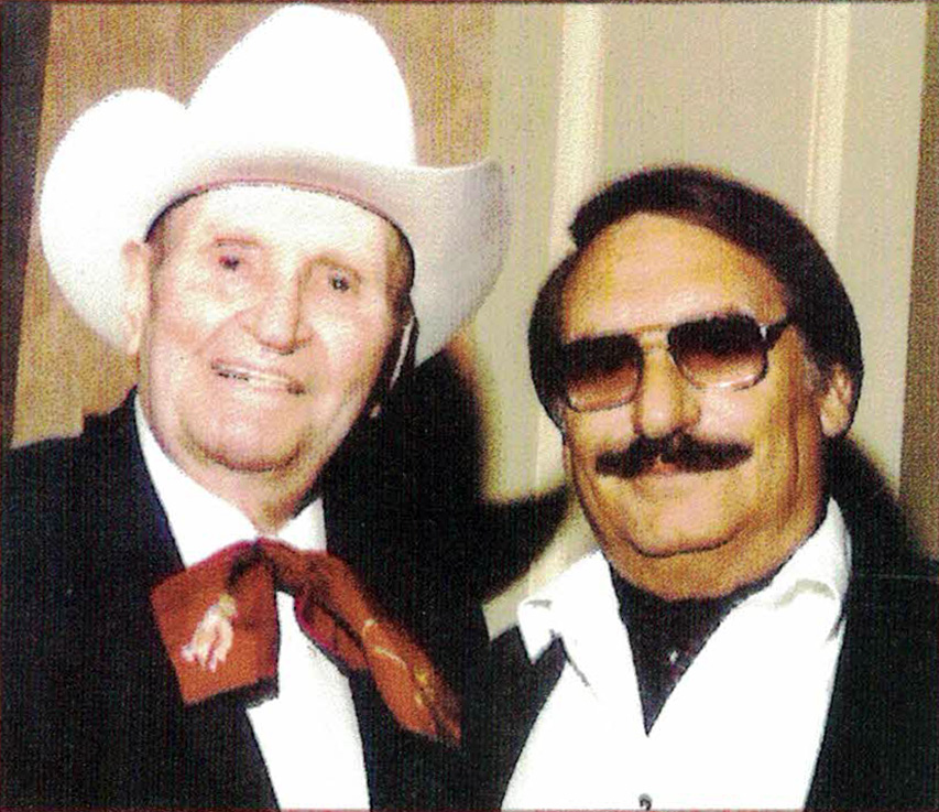 Gene Autry and Adolf Sehring